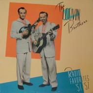 LOUVIN BROTHERS - RADIO FAVORITES 1951-57