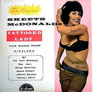 SKEETS McDONALD's TATTOOED LADY PLUS ELEVEN OTHER SIZZLERS