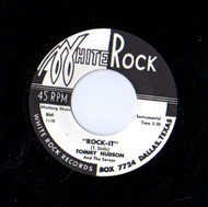 TOMMY HUDSON/SAVOYS - ROCK IT/WALKIN' THE STROLL