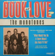MONOTONES - BOOK OF LOVE