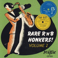 RARE RNB HONKERS VOL. 2 (CD)