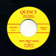 BILLY ADAMS - ROCK PRETTY MAMA