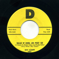 RAY CAMPI - BALLAD OF DONNA AND PEGGY SUE