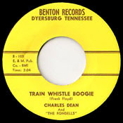 CHARLES DEAN - TRAIN WHISTLE BOOGIE