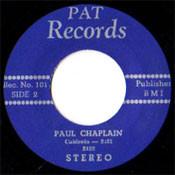 PAUL CHAPLAIN - CALDONIA