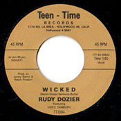 RUDY DOZIER - WICKED