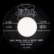 GLEN GLENN - BLUE JEANS AND A BOY'S SHIRT