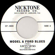 LEFTY NICKS - MODEL A FORD BLUES