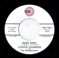 CURTIS JOHNSON - BABY BABY