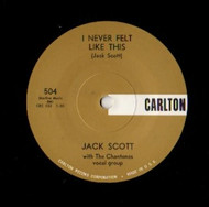 JACK SCOTT- I NEVER FELT LIKE THIS