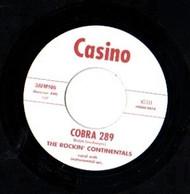 ROCKIN' CONTINENTALS - COBRA 289 / COUNT DRACULA