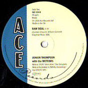 JUNIOR THOMPSON - MAMA'S LITTLE BABY/RAW DEAL
