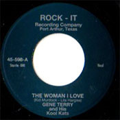 TERRY • GENE TERRY - THE WOMAN I LOVE