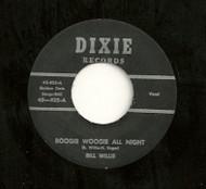 BILL WILLIS - BOOGIE WOOGIE ALL NIGHT