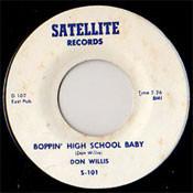 DON WILLIS - BOPPIN' HIGH SCHOOL BABY