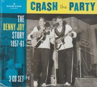 351 BENNY JOY - CRASH THE PARTY (Box Set) CD (351)