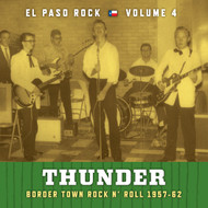 371 VARIOUS ARTISTS - THUNDER: EL PASO ROCK VOLUME FOUR LP (371)