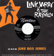 806 LINK WRAY & THE WRAYMEN - BRANDED / LAW OF THE JUNGLE (806)