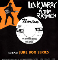 808 LINK WRAY & THE WRAYMEN - THE SHADOW KNOWS / HANG ON (808)