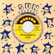 841 CARL PERKINS - HER LOVE RUBBED OFF / KEN COOK - PROBLEM CHILD (841)