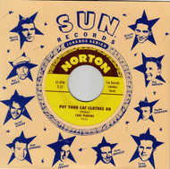 854 CARL PERKINS - PUT YOUR CAT CLOTHES ON / WARREN SMITH - STOP THE WORLD (854)