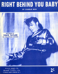 VINCE TAYLOR - RIGHT BEHIND YOU BABY