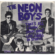 NEON BOYS - THAT'S ALL I KNOW / LOVE COMES IN SPURTS - SLEEVE ONLY
