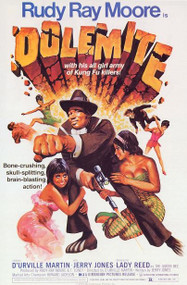 RUDY RAY MOORE - DOLEMITE MOVIE POSTER repro