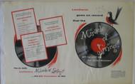 LENTHERIC PERFUME FLEX FLEXI DISC 1954