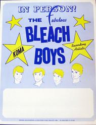 BLEACH BOYS POSTER