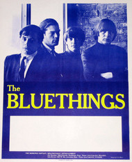 BLUE THINGS POSTER