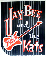 JAY BEE & THE KATS POSTER