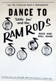 LITTLE JOE & THE RAMRODS POSTER
