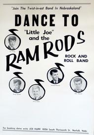LITTLE JOE & THE RAMRODS POSTER