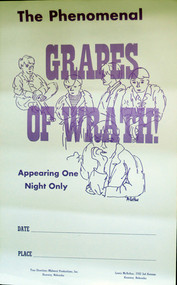 GRAPES OF WRATH POSTER