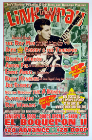 LINK WRAY TRIBUTE SHOW POSTER