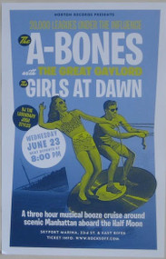 A-BONES / GIRLS AT DAWN POSTER
