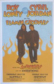FLAMIN GROOVIES / A-BONES / UNDERTHINGS POSTER (2009)