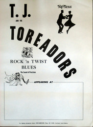 T.J. AND THE TOREADORS POSTER