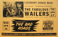 FABULOUS WAILERS / BAD ROADS POSTER (2004)