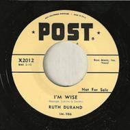 RUTH DURAND - I'M WISE