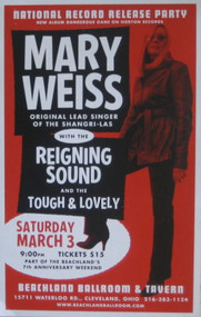 MARY WEISS BEACHLAND BALLROOM POSTER (2007)