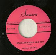 SANDRA GRIMMS - HALLELUJAH ROCK AND ROLL