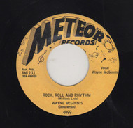WAYNE McGINNIS - ROCK ROLL AND RHYTHM