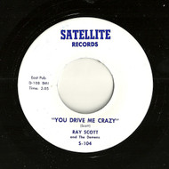 RAY SCOTT - YOU DRIVE ME CRAZY 45RaB-0342-1