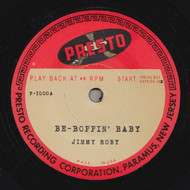 JIMMY ROBY - BE-BOPPIN' BABY