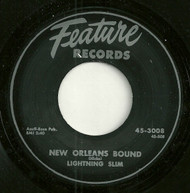 LIGHTNIN' SLIM - NEW ORLEANS BOUND (REPRO)