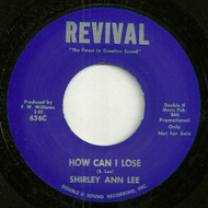 SHIRLEY ANN LEE - HOW CAN I LOSE