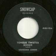 LOUISIANA LANNIS - TONGUE TWISTER BOOGIE
