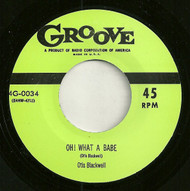 OTIS BLACKWELL - OH WHAT A BABE (REPRO)